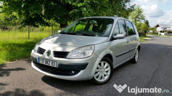 renault scenic impecabil 1 5 dci 2007 facelift 105 cai eur. Black Bedroom Furniture Sets. Home Design Ideas