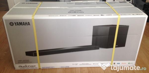 Proiector digital de sunet 7 1 yamaha ysp 2700 black for Yamaha ysp 2700 review