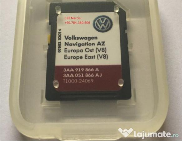 Goede Actualizare Harta RNS-315 V10 EST/VEST SD Card VW,Seat,Sko, 119,99 BD-83