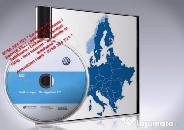 Vw Rns 510 update soft si harta 2018 +Romania, 50 ron