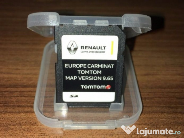 card tomtom carminat renault laguna megane scenic clio harti 99 ron. Black Bedroom Furniture Sets. Home Design Ideas