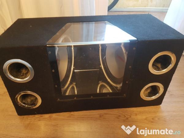 tub de bass cu 2 difuzoare 430 ron. Black Bedroom Furniture Sets. Home Design Ideas