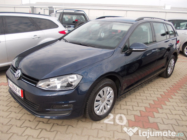 vw golf 7 full 1 6 tdi 110 cp 2015 eur. Black Bedroom Furniture Sets. Home Design Ideas