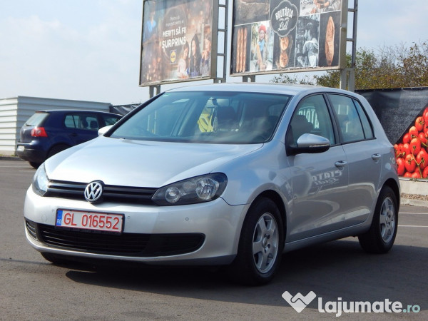 vw golf 6 2 0 tdi 110 cp 2010 eur. Black Bedroom Furniture Sets. Home Design Ideas