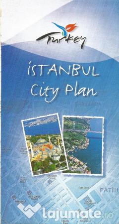 Harta Turistica Format Mare Istanbul Turcia 22 Lei Lajumate Ro