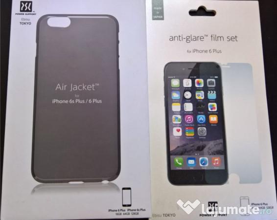 4c2477997d6 Husa de protectie Power Support Air Jacket iPhone 6s Plus, 6, 30 ron ...