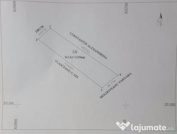Vanzare  terenuri agricol  1220 mp Calarasi, Tamadau Mare  - 23000 EURO