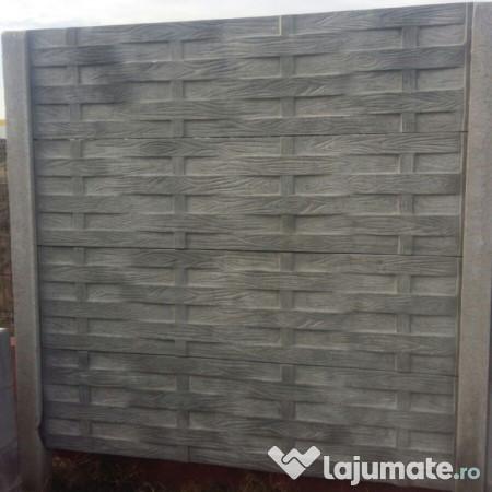 garduri de beton bucuresti ilfov placi gard 95 ron. Black Bedroom Furniture Sets. Home Design Ideas