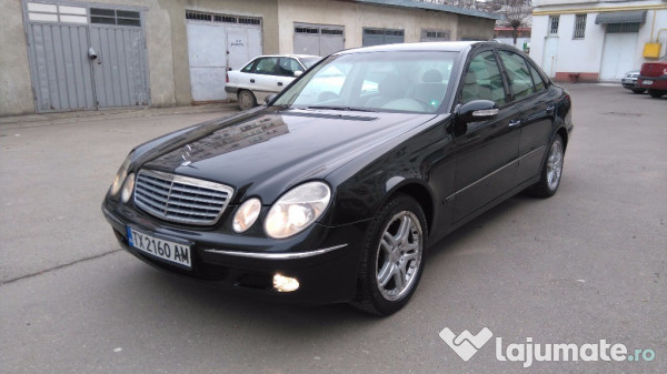 mercedes e220 c d i elegance an 2004 full eur. Black Bedroom Furniture Sets. Home Design Ideas