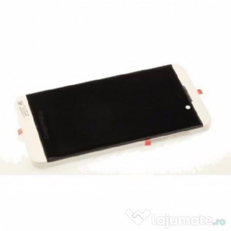 Ecran lcd complet blackberry z10 versiunea 3g alb 98 ron for Photo ecran blackberry z10