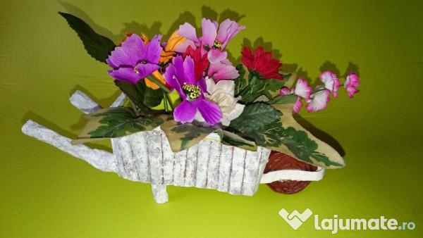 Aranjamente Florale Mese Festive Nunta Etc Roaba Cu Flori 30 Ron