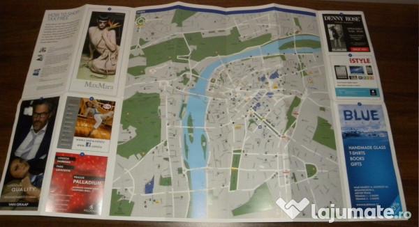 Harta Centru Praga 10 Lei Lajumate Ro