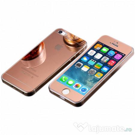 folie sticla iphone 5 iphone 5s iphone se tuning rose gold 35 ron