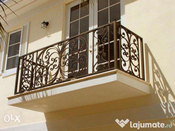 balustrade metalice fier forjat pt balcon 249 ron. Black Bedroom Furniture Sets. Home Design Ideas