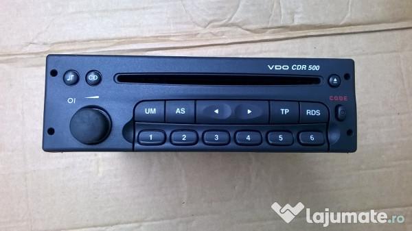 radio cd player vdo cdr 500 e opel perfecta stare de. Black Bedroom Furniture Sets. Home Design Ideas