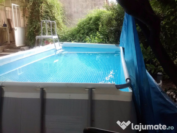 Piscina supraterana intex 549x274x132 ron - Piscina intex 549x274x132 ...