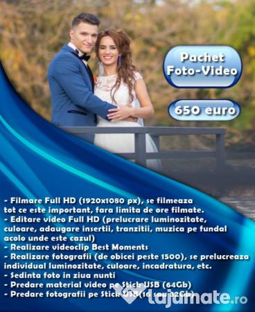 Servicii Foto Video Nunta Botez Albume Nunti Fotograf 650 Eur
