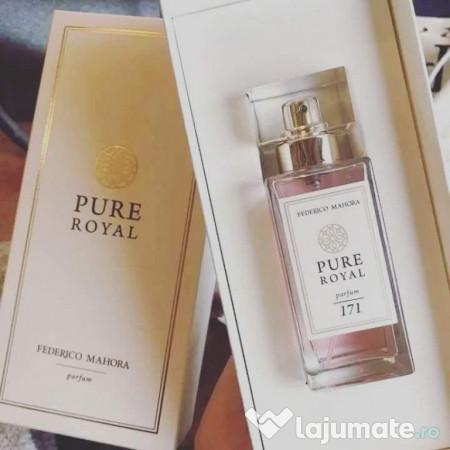 Pure Royal Noua Colectie Regala De Parfumuri Fm 108 Ron